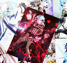 Anime Sword Art Online II 8 Pcs Poster Set - US Seller
