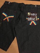 NWT Men's Noiz Jean Shorts Size 48 Premium Denim 100% Cotton  MSRP $35