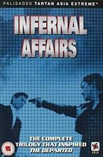 Infernal Affairs Trilogy - DVD Fast Post for Australia Top Selle