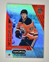 2020-21 UD Synergy Red Bounty Code Rookie #123 Tyler Benson RC - Edmonton Oilers