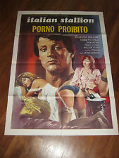 Movie Poster Italian Stallion 1978 Adult Porno Fogli VF+ 8.5 Sylvester Stallone