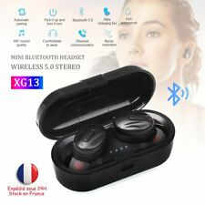 Ecouteur Bluetooth Stéréo Sans Fils Casque Sport Android IOS Universel Air pods