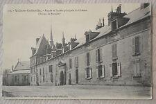"""CPA """" VILLERS-COTTERETS - Façade et Entrée du Château (Maison de retraite)"""