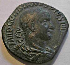VZ  Sesterz-Sestertius Gordian III. (238 - 244)  17,35. gr. // 29mm