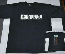 Vintage 1997 U2 Pop Mart Concert Music Tour T-Shirt black tee Men's Large Bono