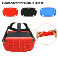 Head Skin Case Cover Silicone Eye Cover  For Oculus Quest VR Helmet Accessories
