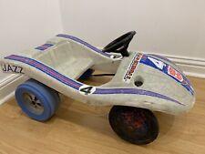 Rare Vintage Transformers JAZZ Hasbro 1985 Porsche pedal car buggy Kids Toy