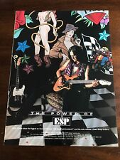 1994 8X11 PRINT Ad for ESP GUITARS GILBY CLARKE PLAYS THE HYBRID ON GUNS N ROSES