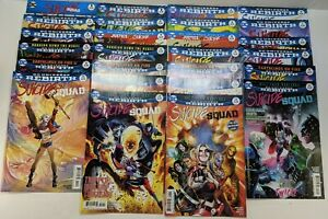 DC Universe Rebirth Suicide Squad Bundle issues #0 (#1) to #25 Free UK PP