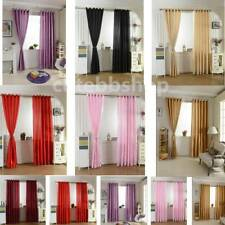2 Panels Blackout Material Thermal Door Window Curtain Drapes Curtains Decor