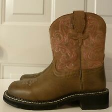 NEW Ariat Fatbaby Steel Toe Leather Western Boots sz 5.5 B