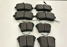 FOR PEUGEOT 407 FRONT AND REAR BRAKE PADS 2004 TO 2011 SALOON ESTATE 1.6 1.8 2.0