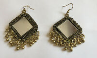 New Fashion Victorian Earrings Drop Dangle Stud Pair Silver Women Jewelry 1890