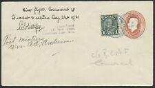 1931 AAMC #3157 Cormorant Man - Brochet and Return Flight, Pilot Signed