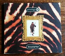 PRODIGY - FIRESTARTER CD FOLD OUT CARD STYLE SLEEVE *DANCE *ELECTRONICA *1996