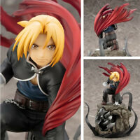 Fullmetal Alchemist Alphonse Elric Edward Elric Anime PVC Figure Figurine NB