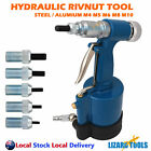 Air Hydraulic Rivnut Nutserts Gun Pneumatic Riveter Rivet Nut Tool M4-M10