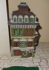 Dept 56 Lighted Dicken's Village Flat Of Ebenezer Scrooge 1989 Christmas 55875
