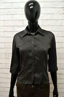 Camicia Donna STEFANEL Taglia S Maglia Camicetta Blusa Shirt Woman Manica 3/4