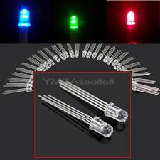 Lot 50Pcs 5mm Tri-Color 4 PIN Common Anode RGB BLUE RGB LED Light Emitting th1u