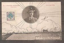 CPA POSTCARD NANTES AVIATION GLOIRE DE MORANE 1910