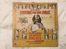 """ DEATH ON THE NILE "" OST 1978 LP STEREO NINO ROTA / MARCUS DODS"