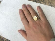 Blessed Virgin Mary Ladies Ring Available in 14K or 10k Yellow or White gold