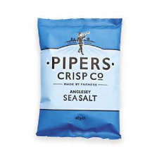 Pipers Crisps Anglesey Sea Salt 3 Case sizes available