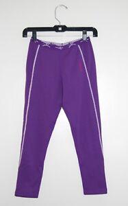 Terramar Girls Purple ClimaSense Ecolator CS Thermoregulation Fleece Leggings M