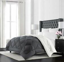 Beckham Hotel Collection Goose Down Alternative Reversible Comforter - All Se.