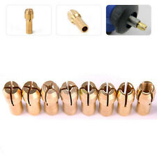 10Pc/lot Drill Chucks Collet Bits 4.3mm 0.8-3.2mm Shank Rotary Tool Accessories