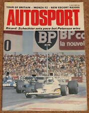 Autosport 5/7/73* FRENCH GP - MONZA F2 - VILA REAL - Mk1 ESCORT RS2000 TEST