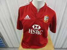Vintage Adidas British And English Lions Medium Jersey South Africa Tour 2009 Se