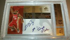 2003 SP Signature Edition INKcredible INK Auto 21/25 Lebron James RC BGS 9.5 10