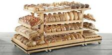 JSI Store Fixtures 4' x 8' Bakery Shelving Island (Baked Goods Display Table)
