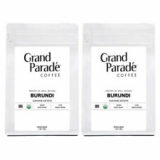 Organic Burundi Gahahe Fresh Dark Roasted Whole Coffee Beans, 2 - 1 lbs Bags