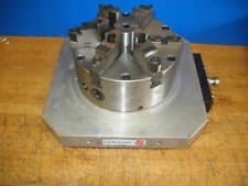 """EROWA 320mm X 320mm CNC EDM PALLET W/PRATT BURNERD 8-1/4"""" 6 JAW CHUCK REV TOP"""