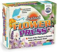 MY LIVING WORLD INSTANT FLOWER PRESS KIDS TOY