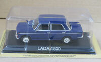 LADA 1500 BLUE  - 1:43  AUTO DIECAST IXO / IST LEGENDARY CAR /BA9