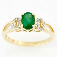 Handmade Natural Emerald Fine Rings