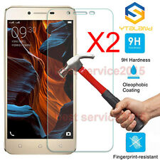 2Pcs 9H+ Premium Tempered Glass Cover Screen Protector For Lenovo Smart Phone