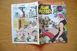FUMETTO ALAN MISTERO N. 13 16 7 1965 COMPLETO EDIT. SISAG TORINO ESSE G ESSE