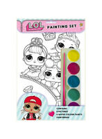 L.O.L Surprise Dolls - Painting Set - Girls Gift Craft Set Paint Colouring LOL