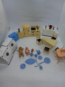 Vintage 1940's'-50's Renewal & More Dollhouse Furniture Kitchen b6
