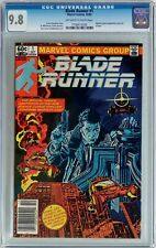 Blade Runner #1 1982 CGC 9.8 NM/MT Movie Adaptation - NEWSSTAND Edition