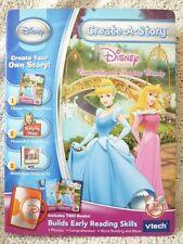 Disney Create-A-Story by vtech Disney Princess New