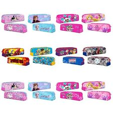 Kids Boys Girls Official Character Rectangular Pencil Case Back To School