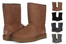 UGG Women's Shoes Classic Short II Boots 1016223 Black Chestnut Grey Chocolate