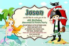 buy pirates theme invitations ebay