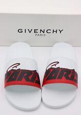 7138ba767561 NIB GIVENCHY Paris Mens Printed Motocross Pool Slide Sandals New 14 47  325